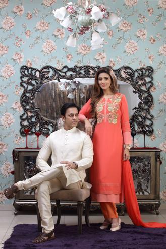 Nobel & Mim in bd fashion photography