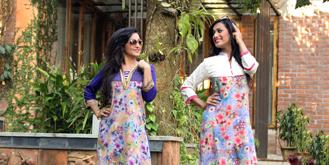 Suzana & Jhumur in model photography