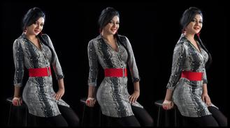 Jaya Posed in Fashion Photography
