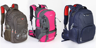 Backpack Products Photography
